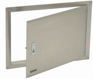 Bull Horizontal Access Door With Lock And Frame For Outdoor Kitchen Stainless Steel